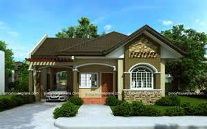 House Designs And Floor Plans Bungalow House Design Bungalow With Floor Plan Home Deco Plans