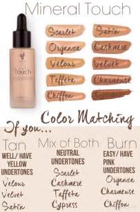foundation color match touch liquid foundation color matching chart https www