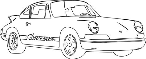 Free Coloring Pages Of Porsche Carrera 911 Turbo Porsche Coloring Pages