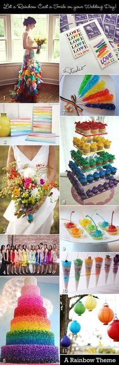 rainbow wedding decorations on rainbow wedding wedding decorations and lego wedding
