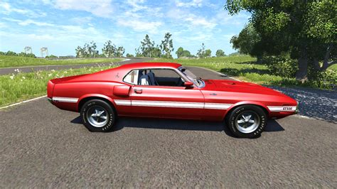 Shelby Cobra Jet by Ford Mustang Shelby Gt500 428 Cobra Jet 1969 Para Beamng Drive