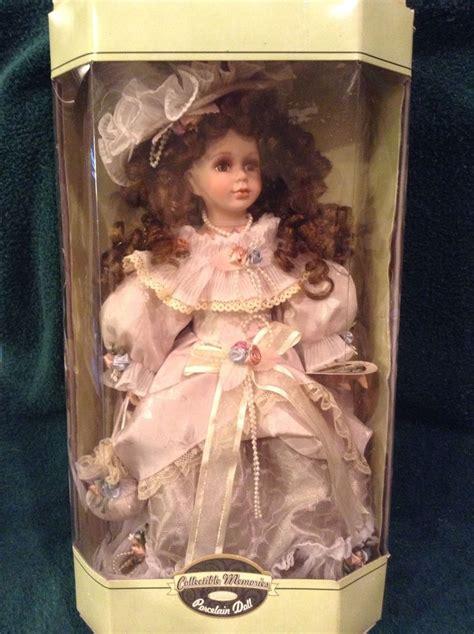 Collectible Porcelain Doll Boneka Porselen collectible memories porcelain doll quot quot new in box ebay