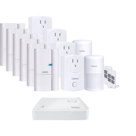 uniden apphome guardian protector home security system w