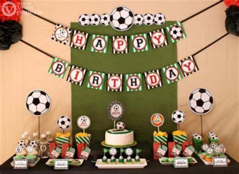 soccer themed birthday decorations soccer themed birthday ideas lovetoknow
