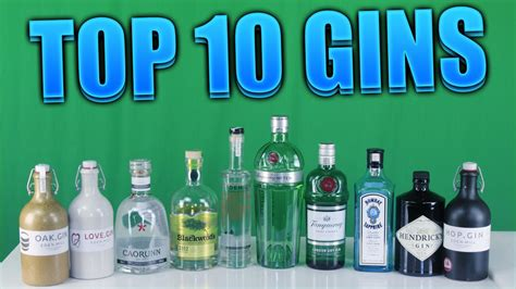 Top Shelf Gins by Top Ten Gins Theprenti