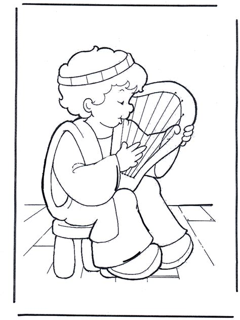 free coloring pages of mephibosheth and david