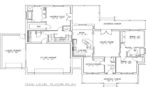 insulated concrete form house plans concrete house plans