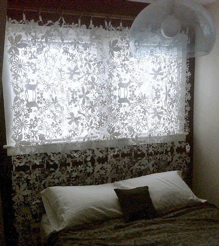 headboard curtains curtain headboard easy diy headboards pinterest