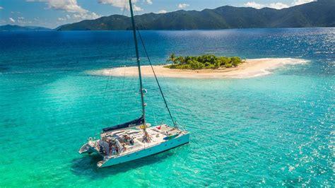 catamaran yacht charter caribbean catamaran bliss bvi yacht charter vacation youtube