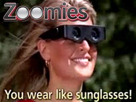 zoomies binoculars you wear like glasses as seen on tv