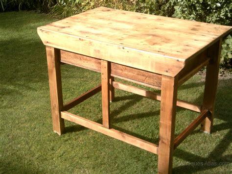 Antique Kitchen Island Table pine work table kitchen island antiques atlas