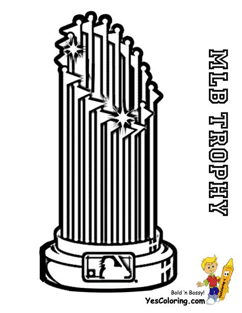 nba trophy coloring pages da bomb baseball coloring yescoloring free mlb sports