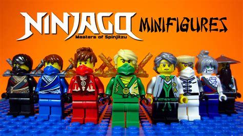 Lego Minifigure Two Bootleg lego ninjago rebooted masters of spinjitzu knockoff minifigures set 2 bootleg