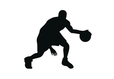 Tree Silhouette Wall Sticker basketball player 04 wall decal great sports vinyl decor