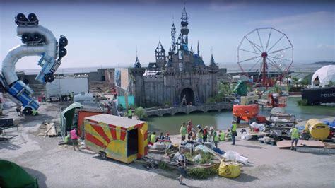 theme park vouchers 2015 banksy s dismaland theme park offers unnerving trailer