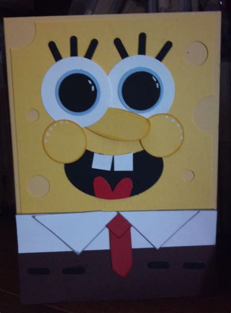 child   amazed   spongebob crafts  diy party ideas