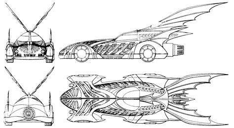 batman car drawing the dork review rob s room batmobile blueprints
