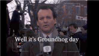 Bill Murray Groundhog Day Meme - groundhog day gif find share on giphy
