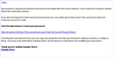 change password email template email templates