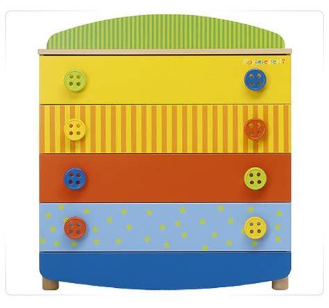 cassettiere colorate cassettiere comodini camerette legno metallo plastica