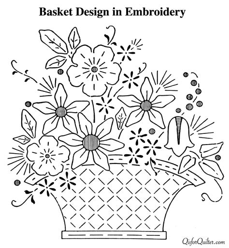 embroidery pattern image housewifely wisdom embroidery patterns from 1920s