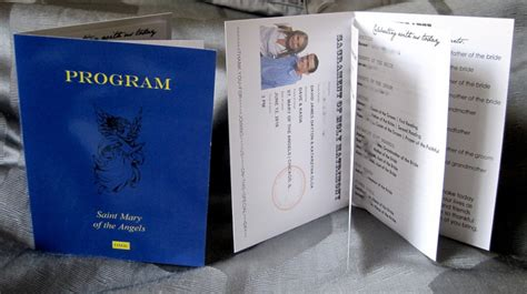 passport wedding program template passport wedding program template image collections free