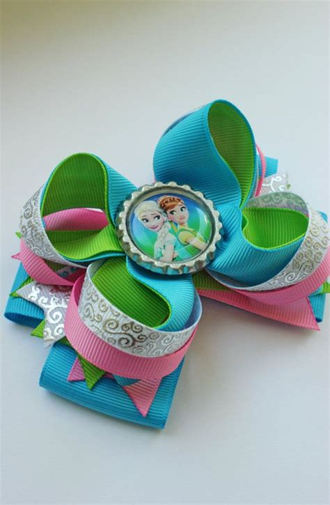Jepit Rambut Hairbow Hjr043 frozen fever hair bow frozen fever hair bow frozen fever headband frozen accessories for