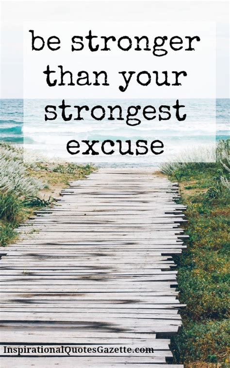 printable recovery quotes be stronger than your strongest excuse recovery