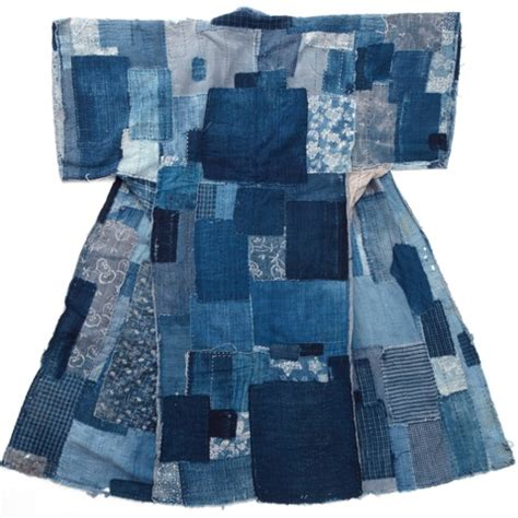 Japanese Patchwork - boro the fabric of highlights traditional japanese