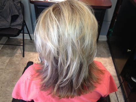 putting lowlights in gray hair lowlights for gray hair betsy hyman added highlights and