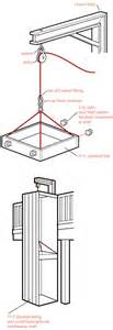 Stair Pulley System by Howtomakeanything How To Make A Dumbwaiter