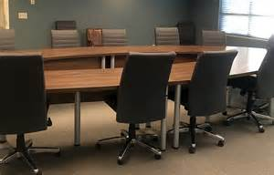 U Shaped Boardroom Table Project U Shaped Conference Table With Leather Conference Chairs