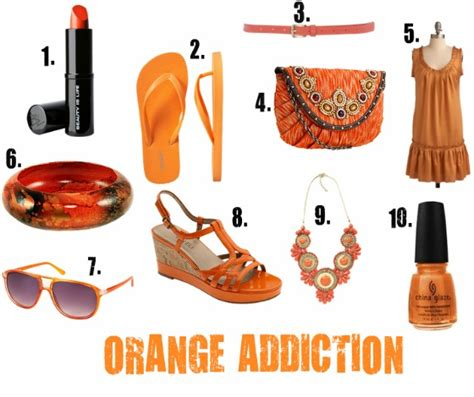 orange accessories 10 sizzling orange accessories to embrace for 2011 50