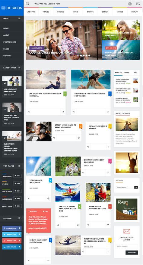 30 Entertainment Html Website Templates 2015 News Html Template