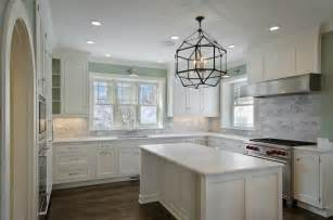 light blue kitchen walls suzanne kasler morris pendant transitional kitchen