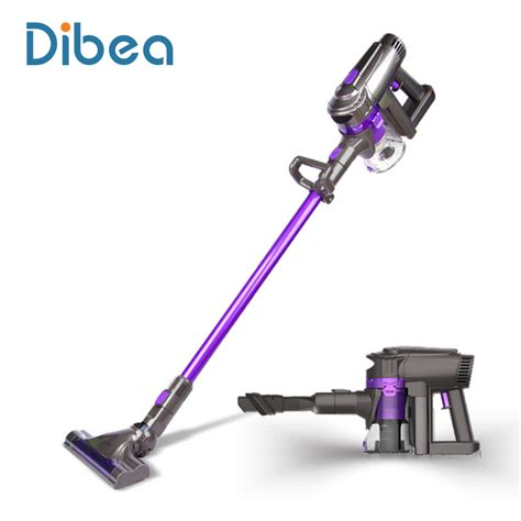 Vacuum Cleaner Wireless dibea f6 2 in 1 wireless vacuum cleaner upright stick and handy vacuum carpet cleaning powerful