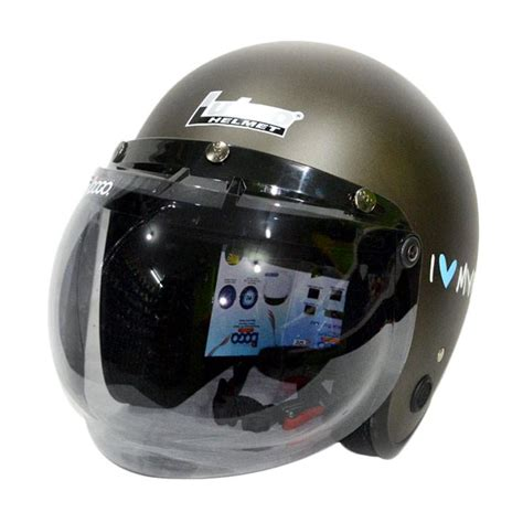Half Helm Bogo Lubro 8 jual lubro helmet retro bogo i bike helm half
