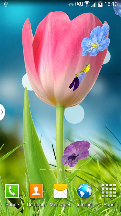 flower wallpaper moving 3d flowers live wallpaper android apps on google play