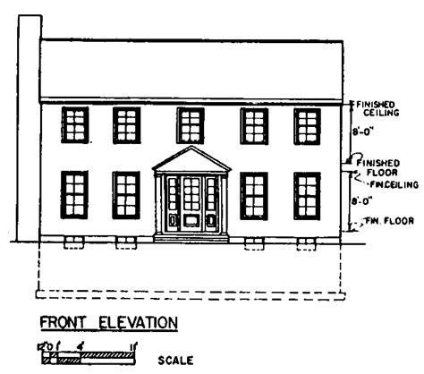 Simple Colonial House Plans | free colonial house plans colonial house floor plans