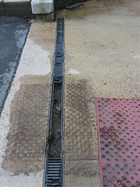 q a replacing broken trench drain grates