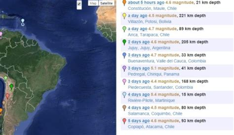 earthquake track 5 free websites that provide earthquake alerts