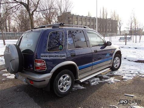 Kia 4x4 Truck 2000 Kia 2000 Td 4x4 Car Photo And Specs