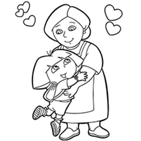 grandmother birthday coloring pages happy birthday grandma coloring pages coloring pages