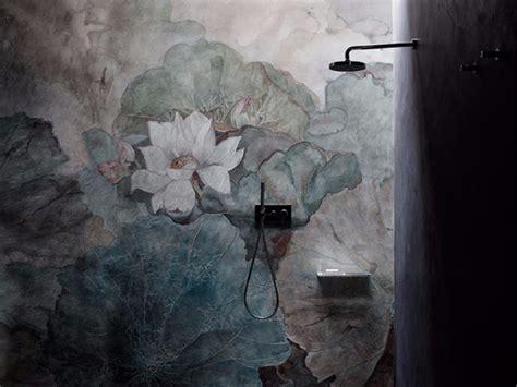 waterproof wallpaper for walls waterproof glass fibre wallpaper with floral pattern