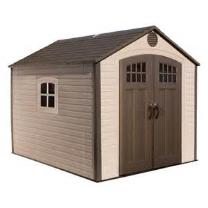 shop lifetime products gable storage shed common 8 ft x