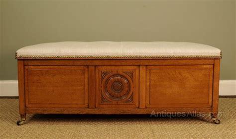 antike ottomane an edwardian light oak ottoman antiques atlas