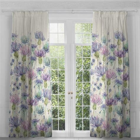 thistle curtains voyage ellean doran thistle curtain panels pair in ready