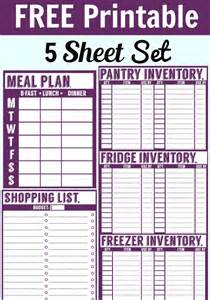 best 25 pantry inventory printable ideas on