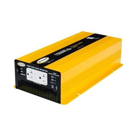 Power Inverter Suoer 1500 Watt go power gp hs1500 1500 watt sine wave inverter 12v