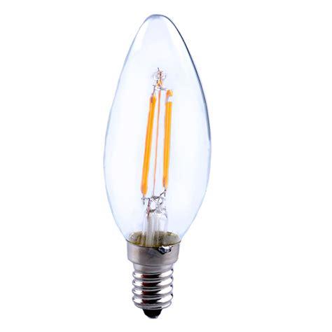 Lu Led In Lite Candle Jantung 4w E14 220v e14 e27 2w 4w 6w 8w edison retro filament led candle light spot l bulb ebay